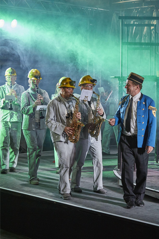 Brassed Off Mit Pauken Und Trompeten Theater Lindenhof